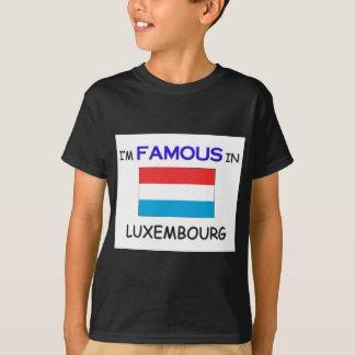 私はルクセンブルクで有名です Tシャツ