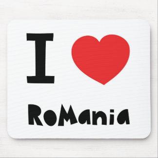 私はルーマニアを愛します マウスパッド