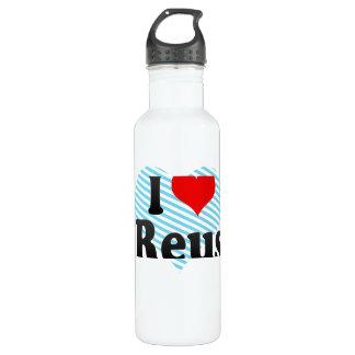 私はレウス、スペインを愛します。 私Encantaレウス、スペイン ウォーターボトル