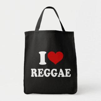 私はレゲエを愛します トートバッグ