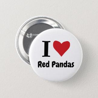 私はレッサーパンダを愛します 缶バッジ