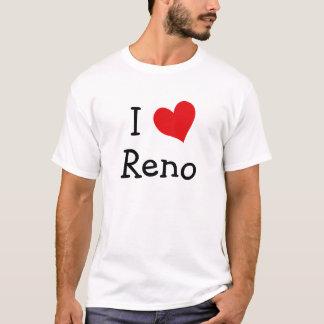 私はレノのTシャツを愛します Tシャツ
