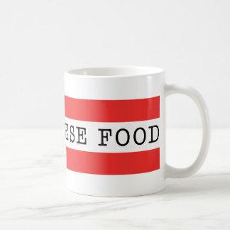 私はレバノンの食糧マグを愛します コーヒーマグカップ