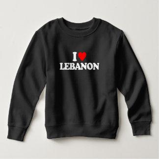 私はレバノンを愛します スウェットシャツ