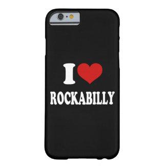 私はロカビリーを愛します BARELY THERE iPhone 6 ケース
