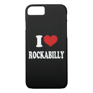 私はロカビリーを愛します iPhone 7ケース