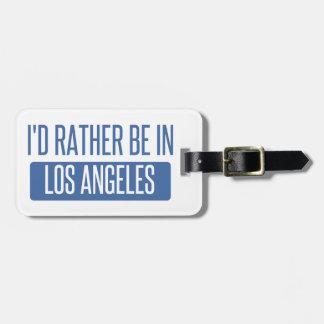 私はロサンゼルスにむしろあります ラゲッジタグ