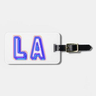 私はロサンゼルスを愛します ラゲッジタグ