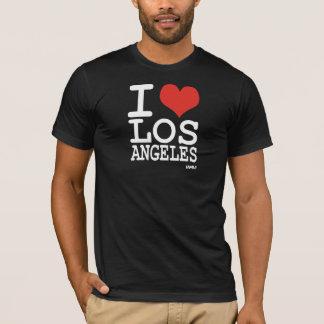 私はロサンゼルス- LA --を愛します Tシャツ