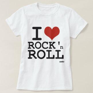 私はロックンロールを愛します Tシャツ