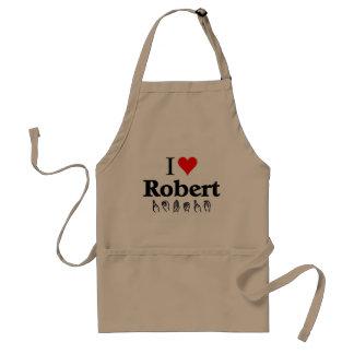 私はロバートを愛します スタンダードエプロン