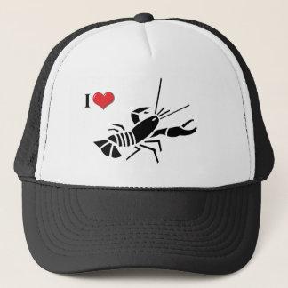 私はロブスターの帽子を愛します キャップ