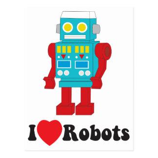 私はロボットを愛します! ポストカード