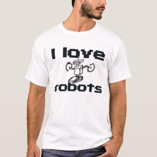 私はロボットを愛します Tシャツ