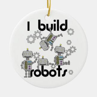 私はロボットを造ります セラミックオーナメント