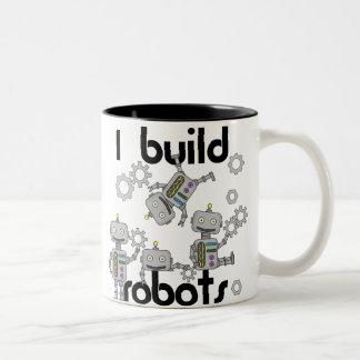 私はロボットを造ります ツートーンマグカップ