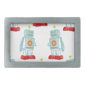 私はロボット軍隊です 長方形ベルトバックル