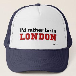 私はロンドンにむしろいます キャップ