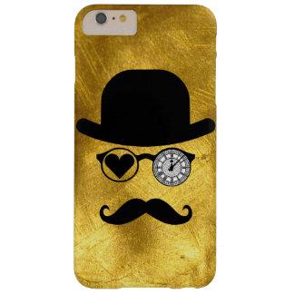 私はロンドンの髭の箱IPhone Samsung 6 Galaxを愛します Barely There iPhone 6 Plus ケース