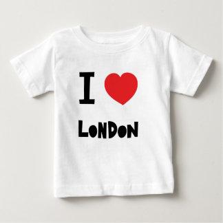 私はロンドンを愛します ベビーTシャツ