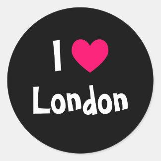 私はロンドンを愛します ラウンドシール