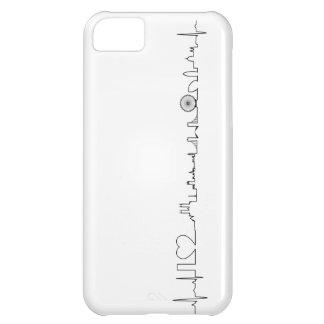 私はロンドン(異常なecgのスタイル)の記念品を愛します iPhone5Cケース
