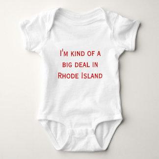 私はロードアイランドのちょっと大事です ベビーボディスーツ