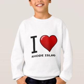 私はロードアイランドを愛します スウェットシャツ