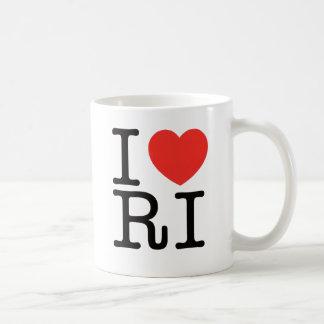 私はロードアイランド2を愛します コーヒーマグカップ
