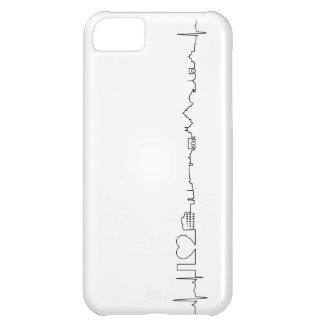 私はローマ(ecgのスタイル)の記念品を愛します iPhone5Cケース