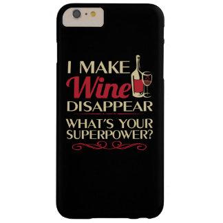 私はワインを消えさせます BARELY THERE iPhone 6 PLUS ケース