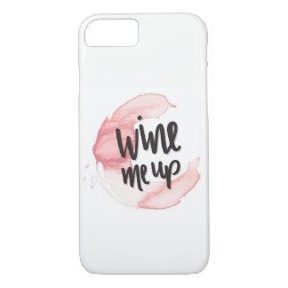 私はワインを飲みます iPhone 8/7ケース