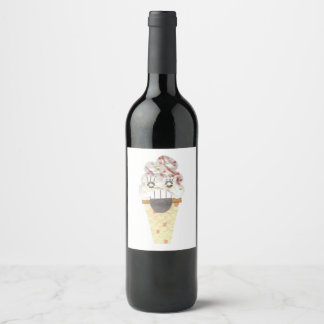 私はワイン・ボトルのラベルを叫びます ワインラベル