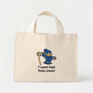私はワシの谷の学校の買い物袋を支えます ミニトートバッグ