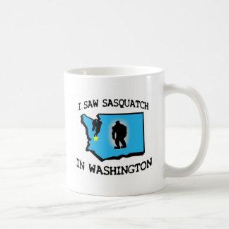 私はワシントン州のサスカッチを見ました コーヒーマグカップ