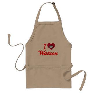私はワトソン、アーカンソーを愛します スタンダードエプロン