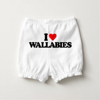 私はワラビーを愛します おむつカバー
