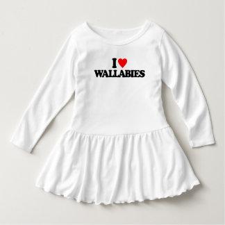 私はワラビーを愛します ドレス
