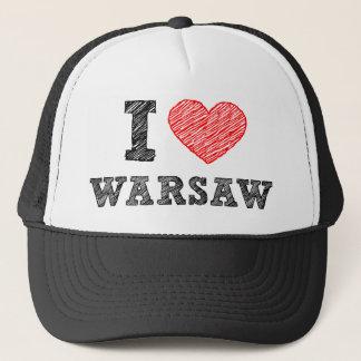 私はワルシャワを愛します キャップ