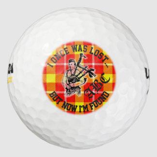 """""""私は一度失ったが、今見つけられた"""" -おもしろいのゴルフボールです ゴルフボール"""