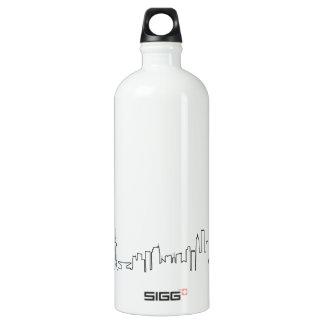 私は上海(ecgのスタイル)の記念品を愛します ウォーターボトル