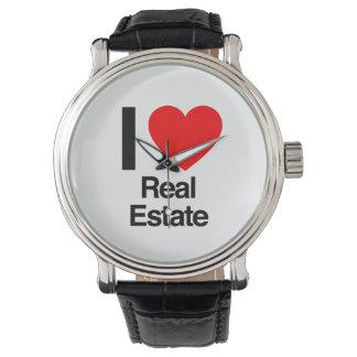 私は不動産を愛します 腕時計