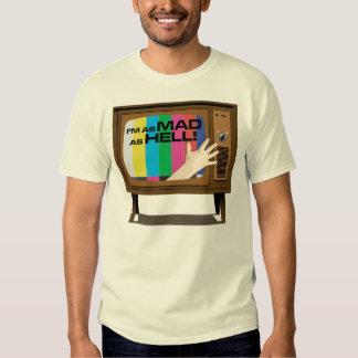 私は不機嫌の自然なワイシャツとしてあります TEE シャツ