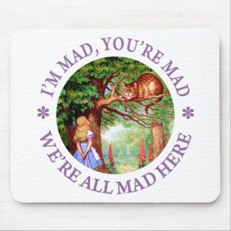 私は不機嫌、あなたは不機嫌、私達いますここにすべての不機嫌です! マウスパッド
