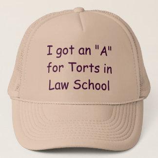 私は不法行為の裁判官の帽子のAを得ました キャップ