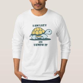 私は不精であり、それが人のTシャツを印刷したことを知っています Tシャツ