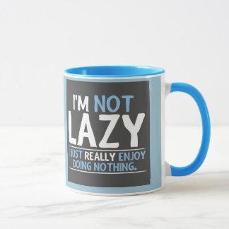 私は不精ではないです マグカップ