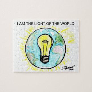 私は世界のライトです! ジグソーパズル