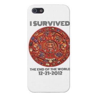 私は世界12-21-2012の端を生き延びました iPhone 5 COVER