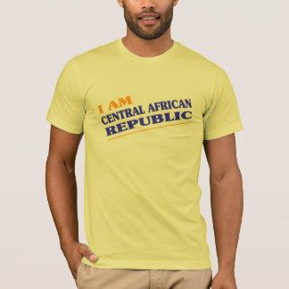 私は中央アフリカです Tシャツ